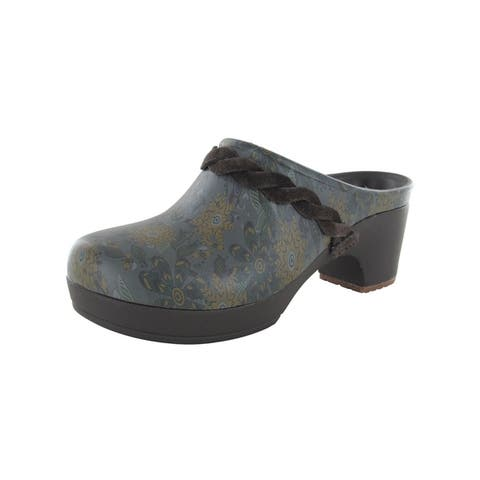 Crocs Womens Sarah Graphic Clogs