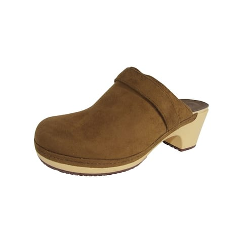 Crocs Womens 'Sarah Synthetic Suede Clogs'