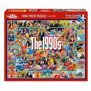 Shop White Mountain Puzzles Television History - 1000 Piece