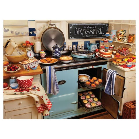 White Mountain Puzzles Home Cooking - 1000 Piece Jigsaw Puzzle