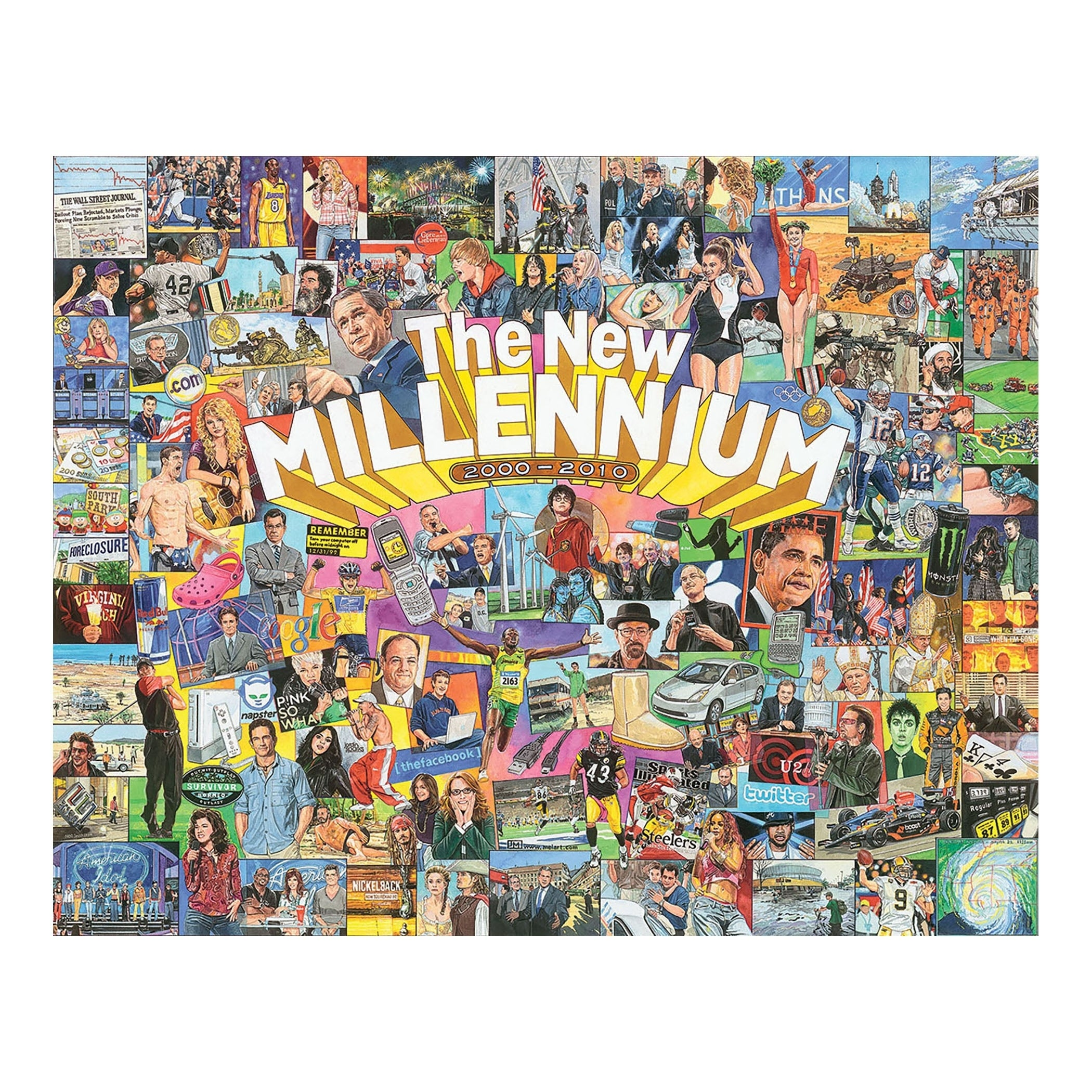 Shop White Mountain Puzzles The New Millennium - 1000 Piece Jigsaw ...