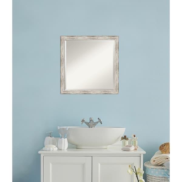 Bathroom Vanity Mirror Distressed