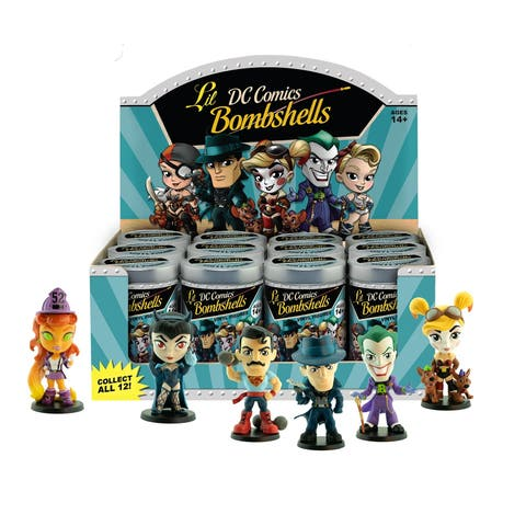 DC Comics Lil Bombshells Series 3 Vinyl Blindbox Individual Figure Diplay Pack 12