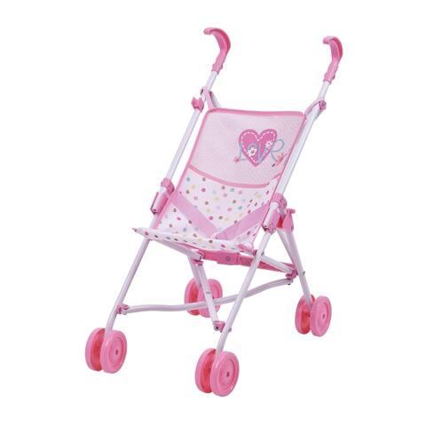 Hauck Love Heart Pretend Play 18 inch Baby Doll Umbrella Stroller