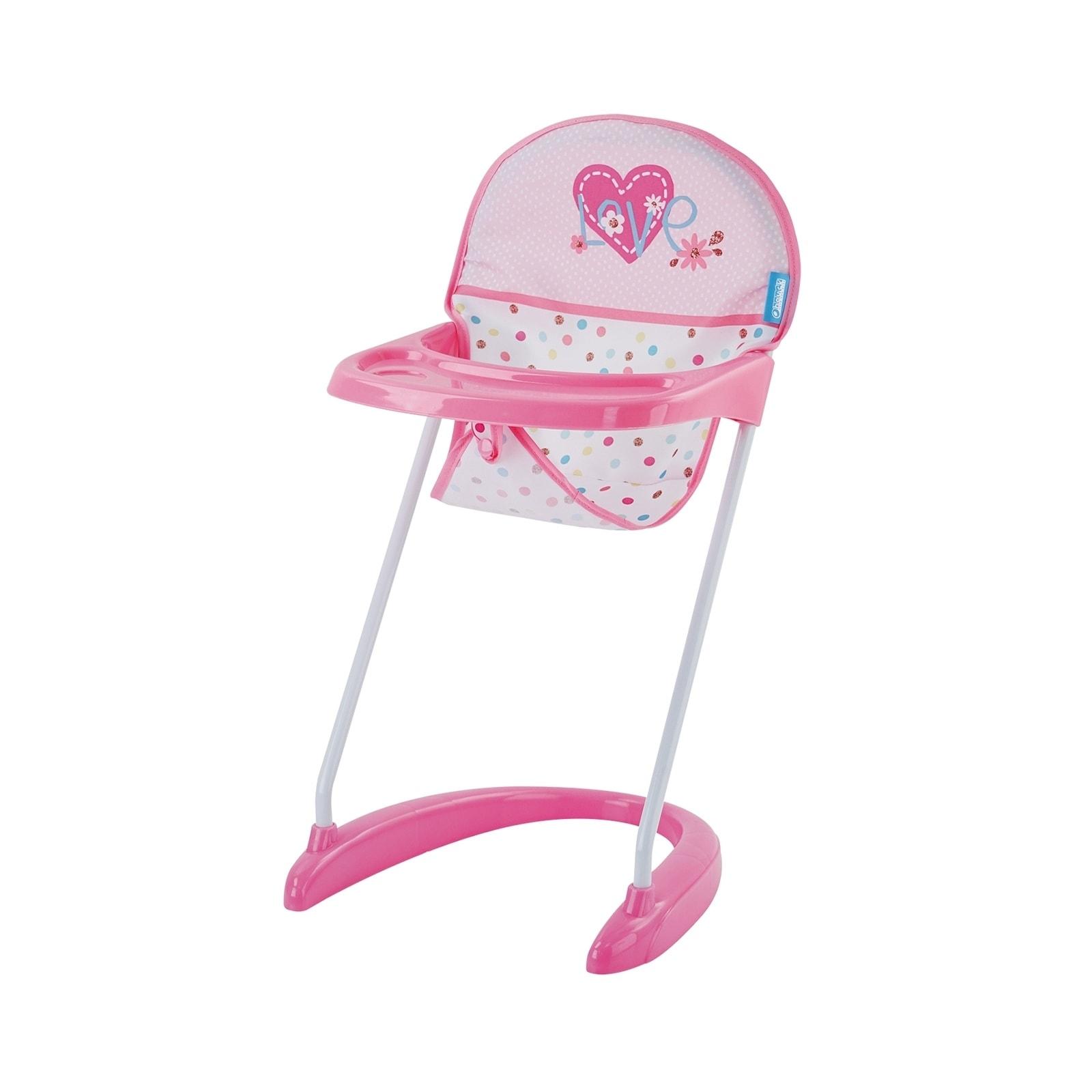 Shop Hauck Love Heart Pretend Play Baby Doll High Chair