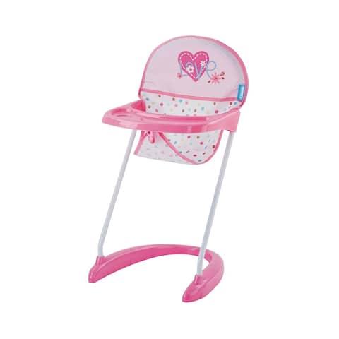 Hauck Love Heart Pretend Play Baby Doll High Chair