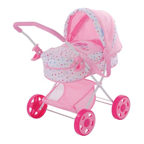 Hauck Love Heart Pretend Play Baby Doll Pram Stroller