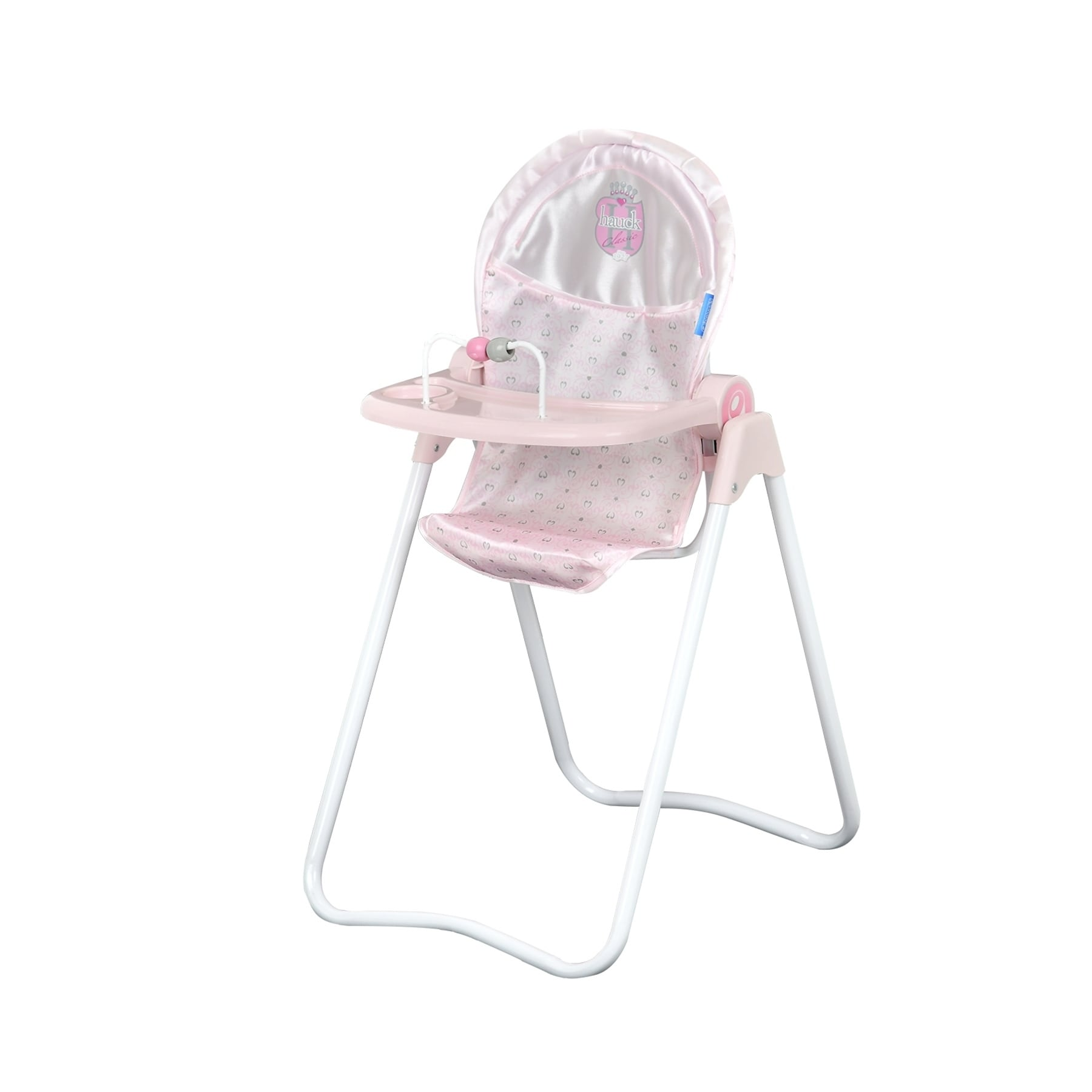 Shop Hauck Pretend Play Princess Pink Snacky Baby Doll High Chair