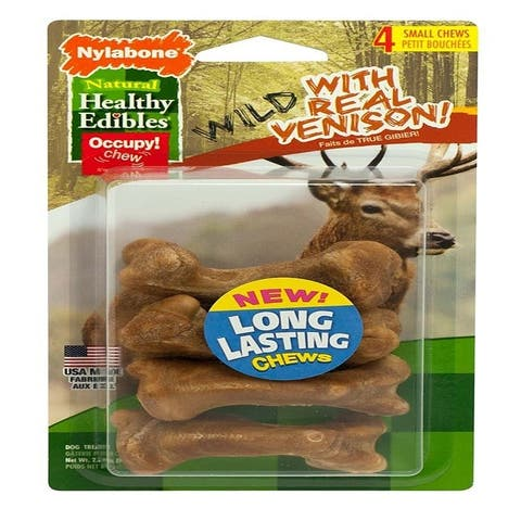 Healthy Edibles Wild Venison Bone Small 4 ct