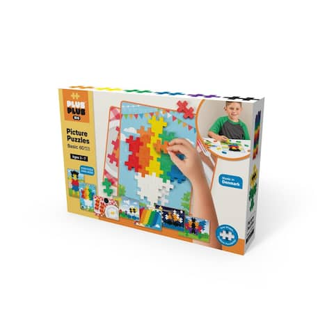 Plus-Plus - BIG Picture Puzzles - Basic Color Mix Building Set