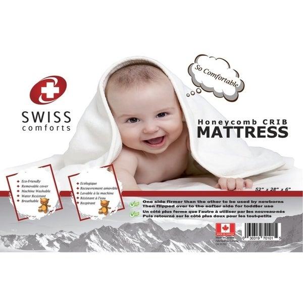 Shop Swiss Comforts Lofty Two Stage Crib Mattress Free