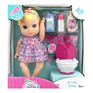 Little Darlings It's My Potty Toy Baby Doll Play Set