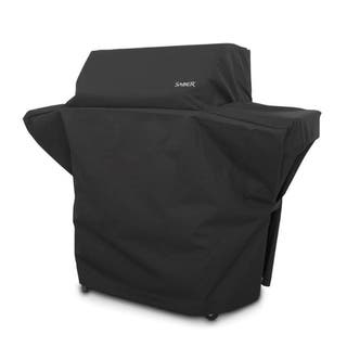 Saber Char-Broil Black Grill Cover 57.5 in. W x 26 in. D x 48 in. H For Fits 500 Size Saber Grills