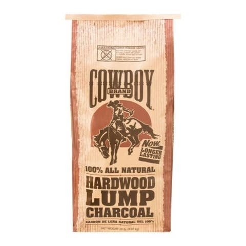 Cowboy Hardwood Lump Charcoal 20 lb.