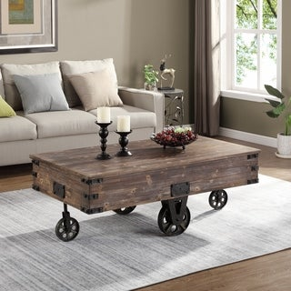 """FirsTime & Co.® Factory Cart Coffee Table - 45"""" x 17"""" x 29.5"""""""