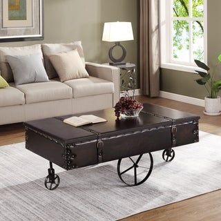 FirsTime & Co.® Vintage Cart Coffee Table