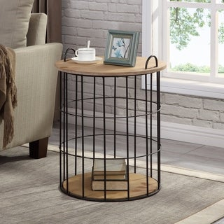 FirsTime & Co.® Arborfield Basket Storage Table
