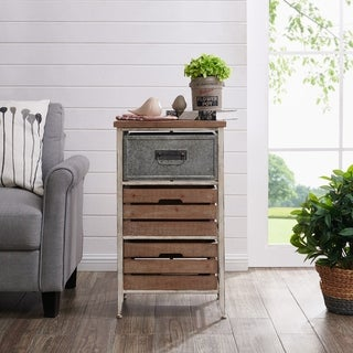 FirsTime & Co.® Maxwell Crates 3 Drawer Table