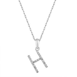 bc838533966d2 Initial Necklaces   Find Great Jewelry Deals Shopping at Overstock