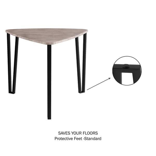 Shop Carson Carrington Mortbol Modern Wood Nesting Tables