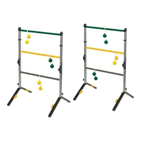 Go Gater 3 ft. Ladderball Game Set - Multicolored - 24.8 inches W x 40 inches H