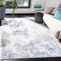 Safavieh Amelia Modern & Contemporary Abstract Grey/Blue Rug