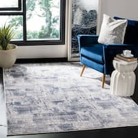 Safavieh Amelia Modern & Contemporary Abstract Blue/Grey Rug