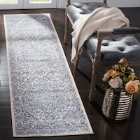 Safavieh Brentwood Traditional Oriental Navy/Light Grey Rug