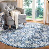Safavieh Brentwood Traditional Oriental Navy/Cream Rug