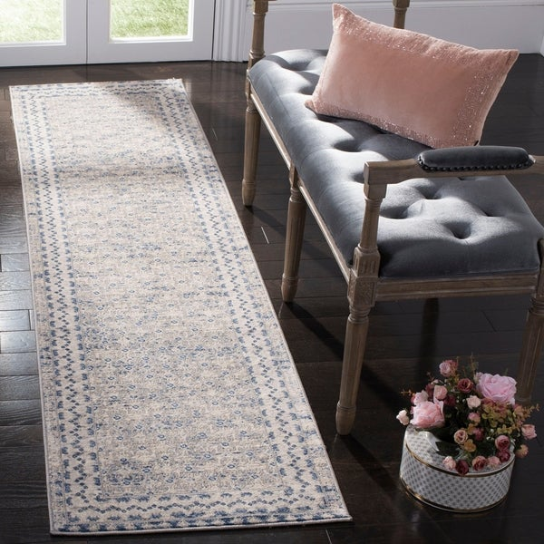 Safavieh Brentwood Traditional Oriental Light Grey/Blue Rug