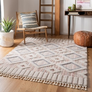 Safavieh Marrakech Bohemian & Eclectic Oriental Grey/Multi Polyester Rug