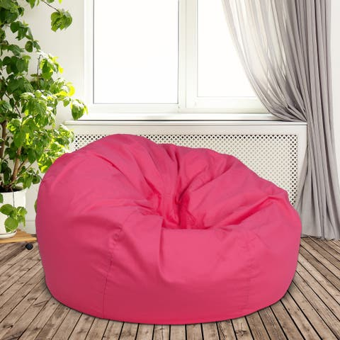 Porch & Den Carol Oversized Bean Bag Chair