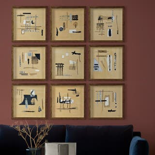The Curated Nomad Brown/Black Wood-framed Alternative Wall Decor