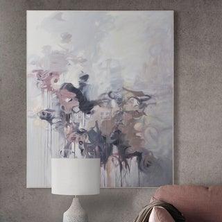 Strick & Bolton White Timber-framed Canvas Art