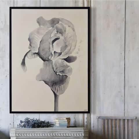 The Gray Barn Bardet Framed Black Canvas Art