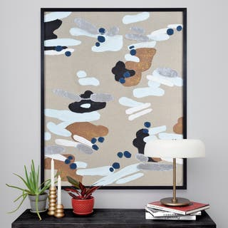The Curated Nomad Black-framed Canvas Art