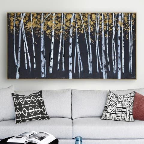 Copper Grove Framed Canvas Art