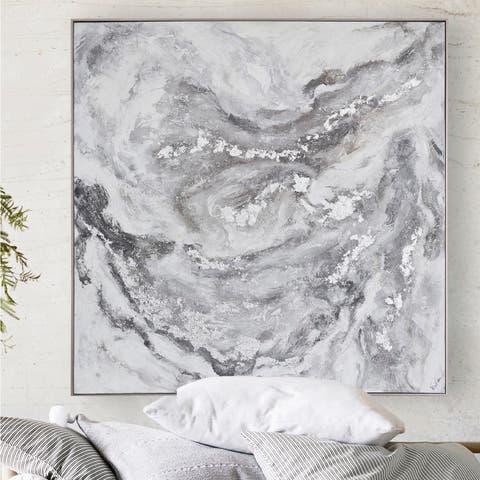 Renwil Caddock Champagne Framed Canvas Art