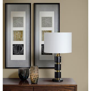 Strick & Bolton Framed Black Alternative Wall Decor