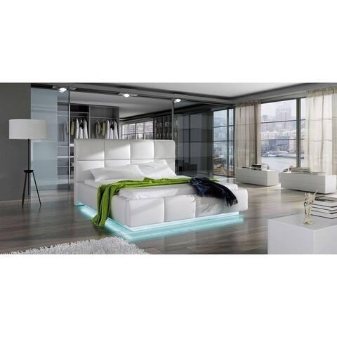 FASTI Platform Bed European King size with mattress 70.8 x 78.7 inch