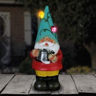 Solar Colorful Gnome Statue
