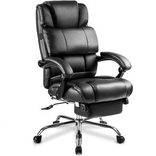 Merax Portland Technical PU Leather Big and Tall Executive Recliner Chair