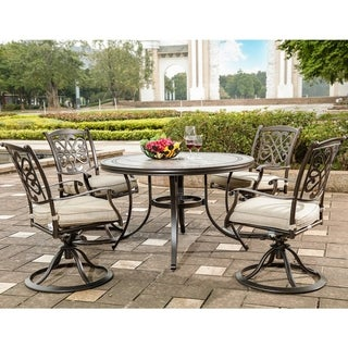 5 Piece Patio Dining Set Outdoor Furniture