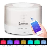 ZOKOP 1841/2468WF 110V RGB Aroma Diffuser WIFI Remotely Controller - (6.3 x 4.5)""