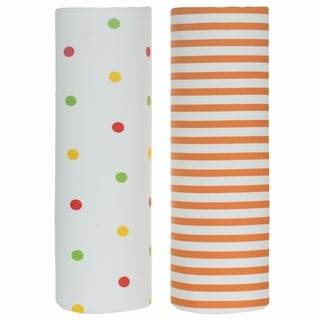 Shop Trend Lab Polka Dot Flannel Crib Sheets Pack Of 2