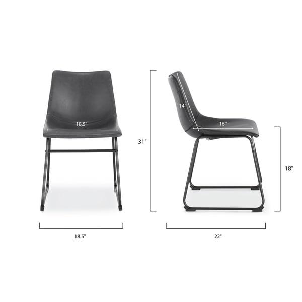 EdgeMod Brinley Dining Chair (Set of 2)