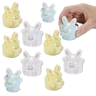 Dimple Easter Toys for Kids, Pull Back Easter Bunnies Assortment
