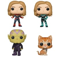 f906e0db18 Funko POP! Marvel Captain Marvel Collectors Set - Captain Marvel (Possible  Limited Chase Edition