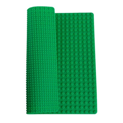 Double Sided Reversible Silicone Brick Baseplate Mat