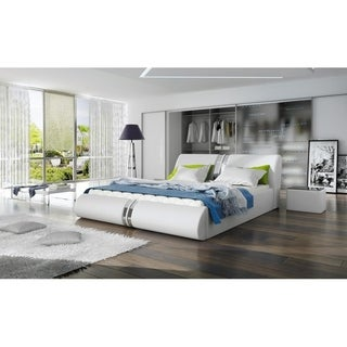 Cristo Platform Bed European King Size with mattress 70.8 x 78.7 inch
